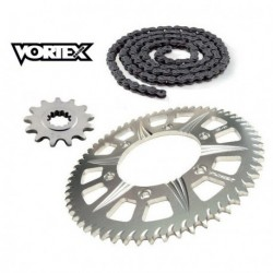 Kit Chaine STUNT - 14x65 - CBR600 F4 99-00 HONDA Chaine Grise