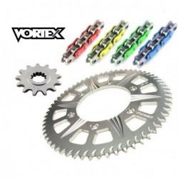 Kit Chaine STUNT - 14x60 - GSXR 1000 09-16 SUZUKI Chaine Couleur