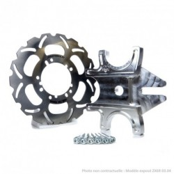 Kit Handbrake Triple ZX6R 07-17+ Disque Wave 296mm Jokeriders