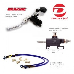 Fullthrottle Pack CNC Discacciati 14mm & Braking 13mm