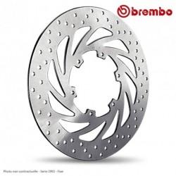 Disque arriere BREMBO APRILIA 1000 Tuono R/ Racing 03-09 ( 68B407G6 ) Serie ORO - Fixe