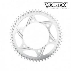 Couronne VORTEX - HONDA CR85R 03-04 - Argent (ref:201)