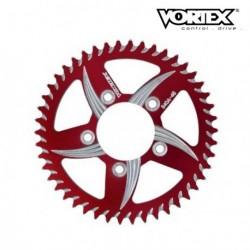 Couronne VORTEX - APRILIA 1000 RSV Mille 04-08 - Rouge (ref:144ZR)